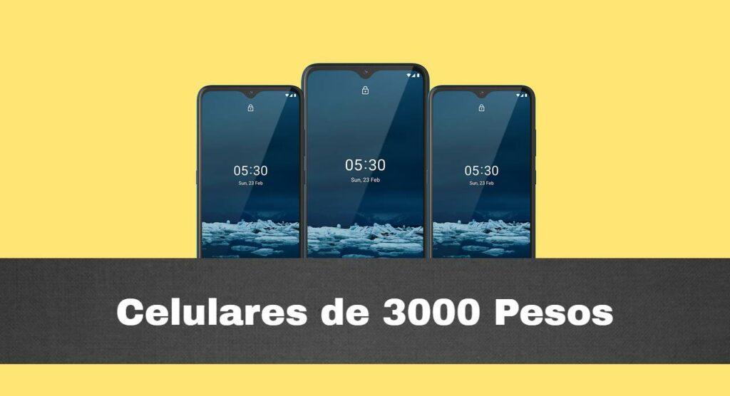 Mejores celulares de 3000