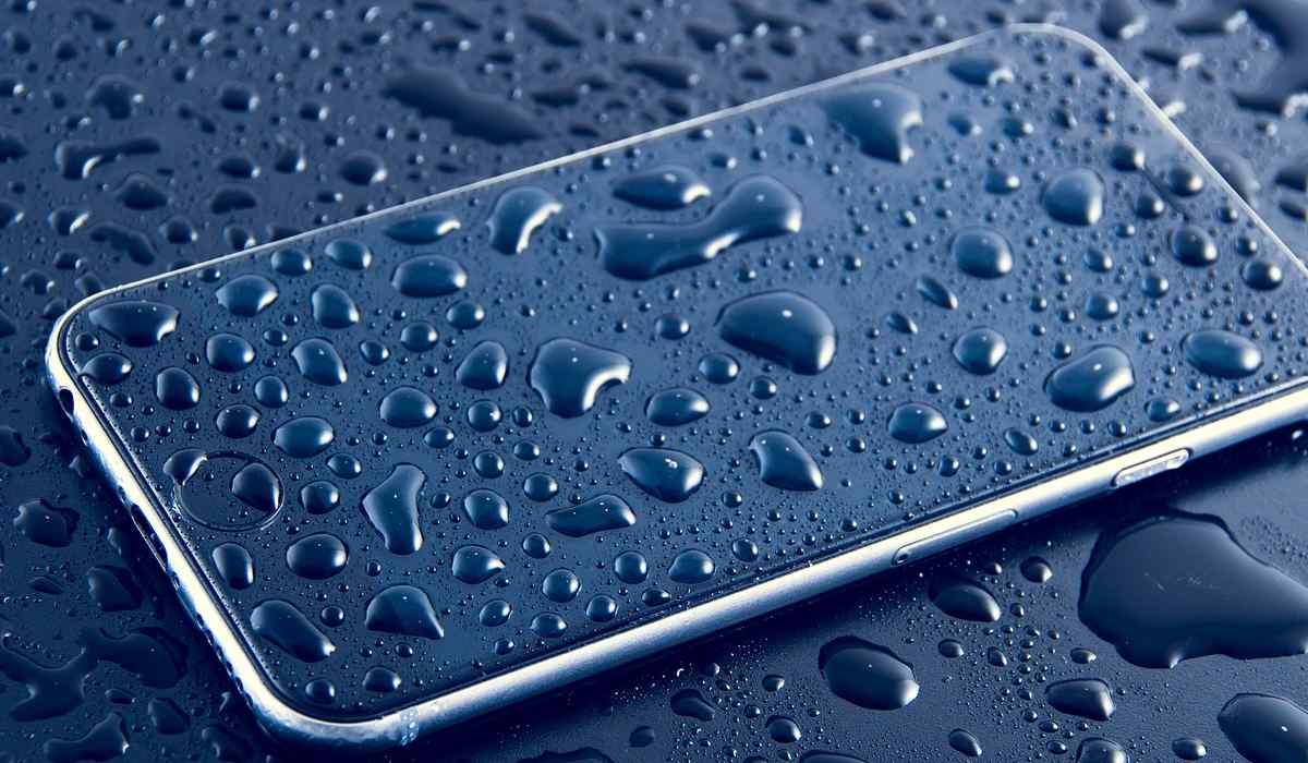 Smartphone resistente al agua